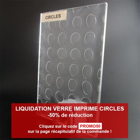 Verre Imprimé Oltreluce Circles